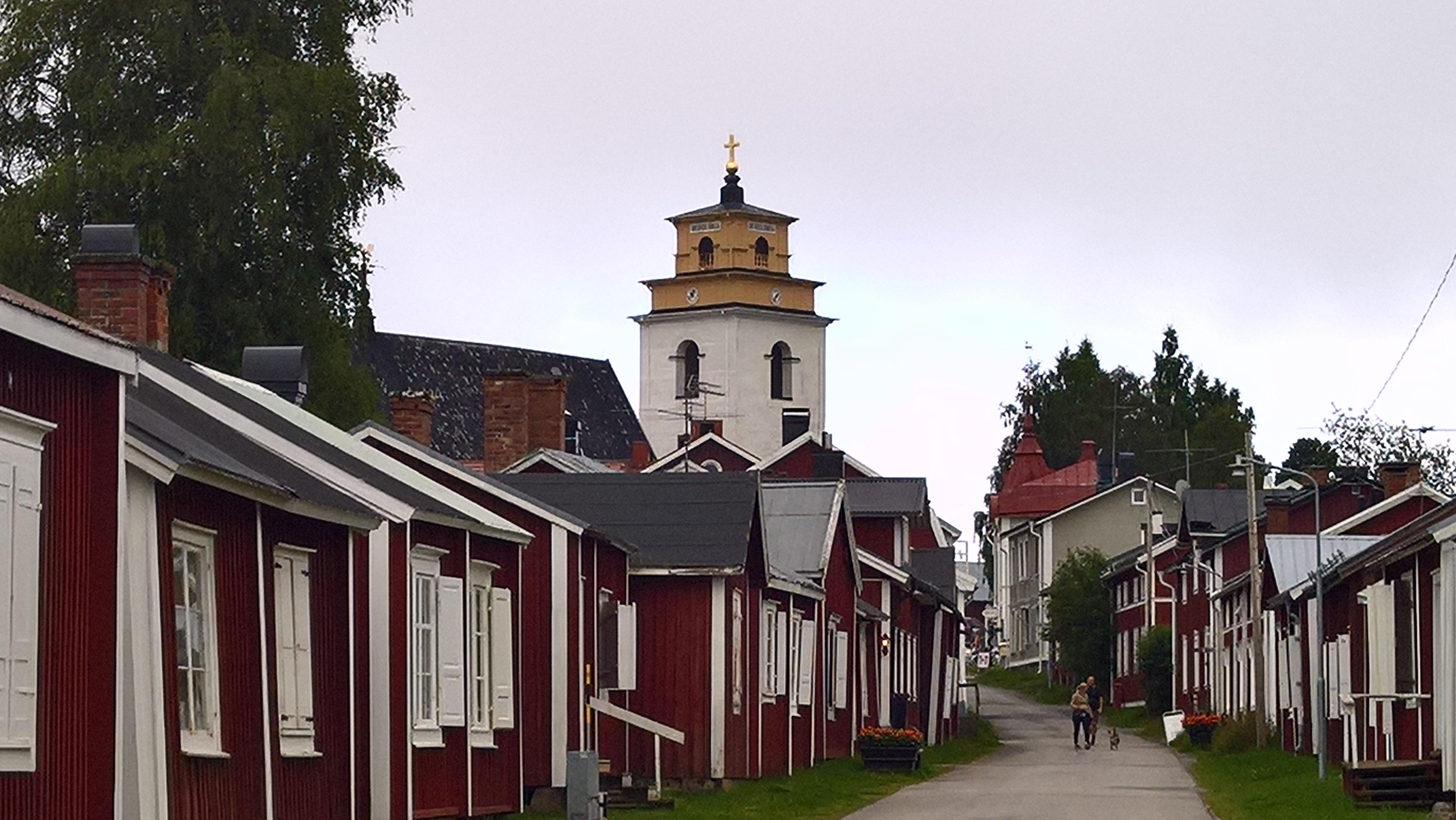 Gammel Kirkestad, toppen af den Botniske bugt.