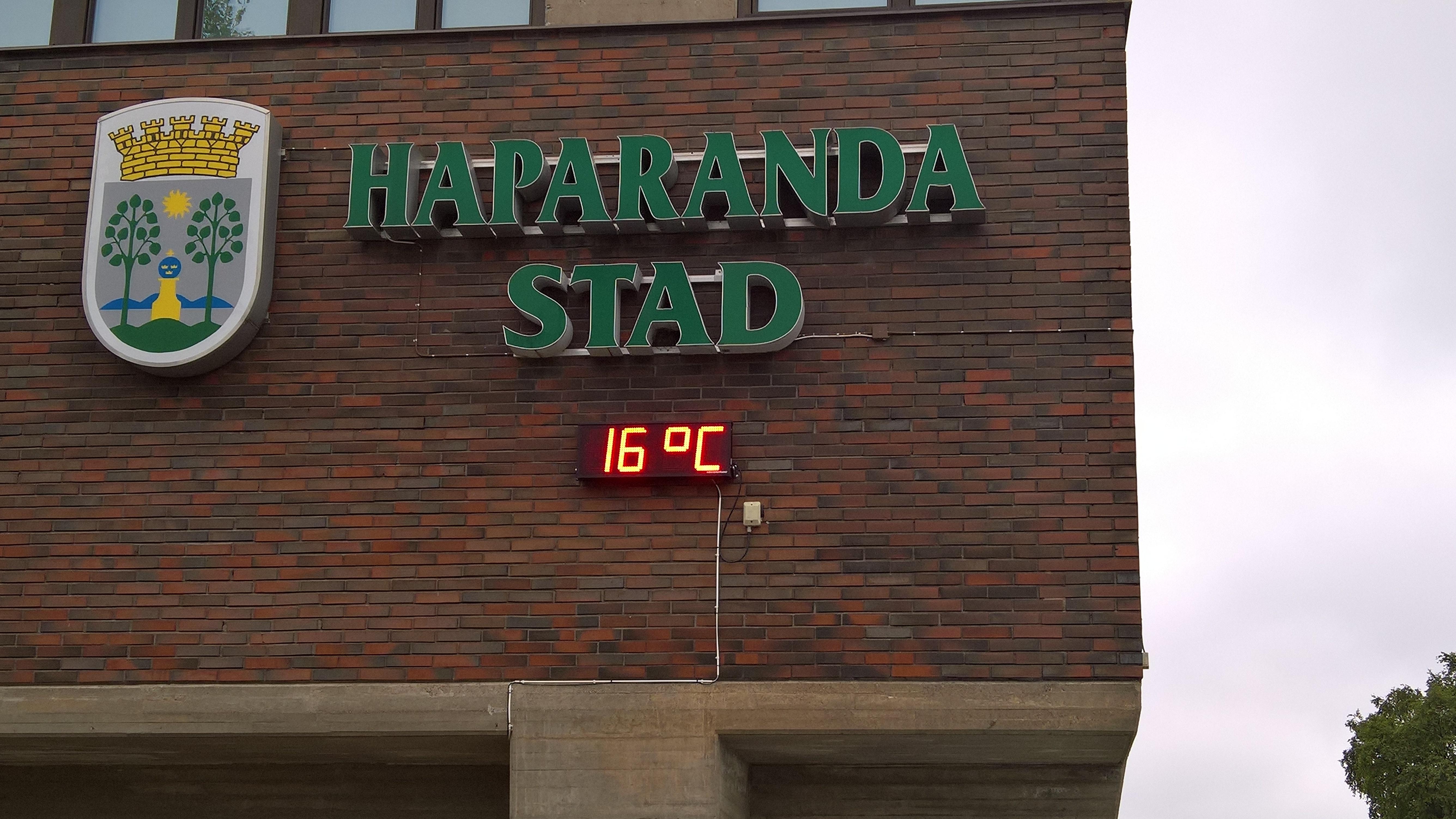 Haparanda, toppen af den botniske bugt