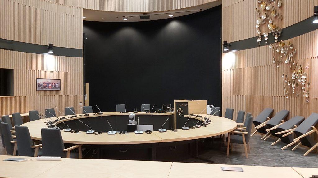 Samisk gæstfrihed i parlamentet