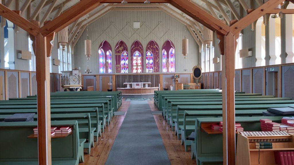 Älvros nye kirke