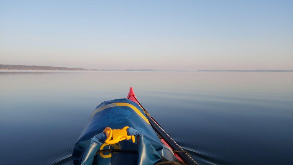 Kajaklivet på Isefjorden