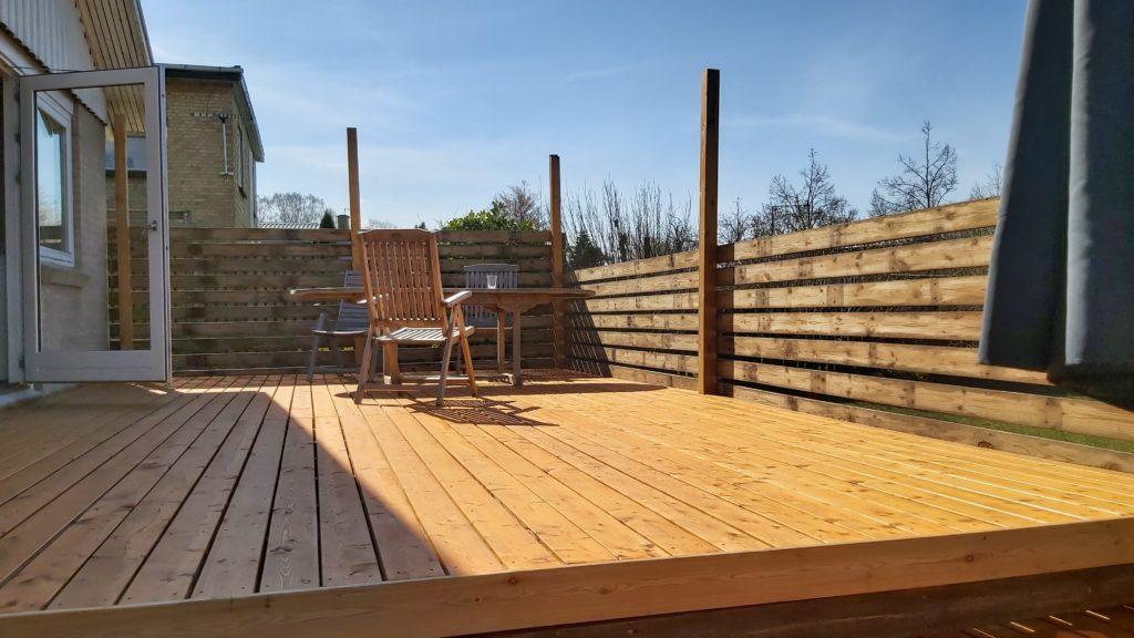 bygge en træterrasse