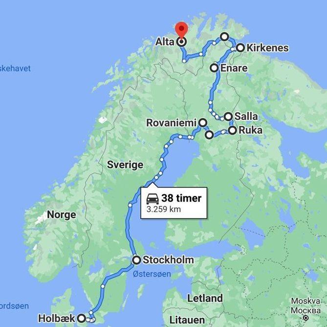 Roadtrip til Arktis